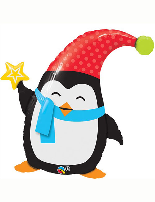 Elfin Penguin Balloon