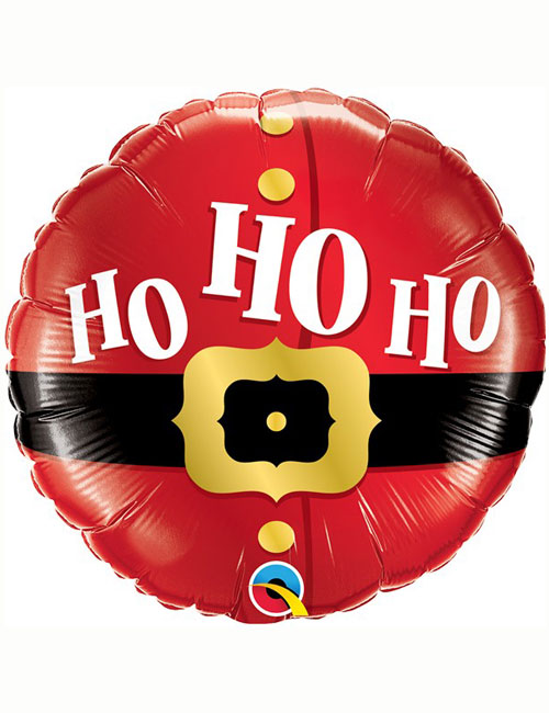 Ho Ho Ho Santas Belt Balloon