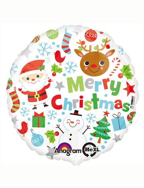 Icons Merry Christmas Balloon