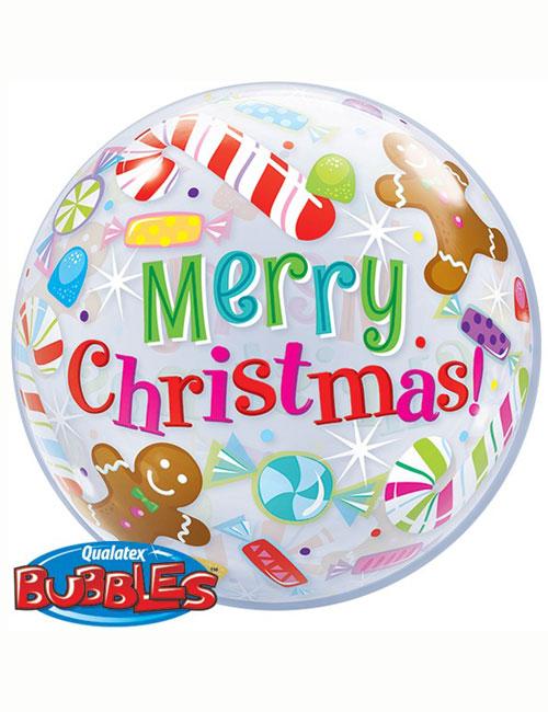 Merry Christmas Bubble
