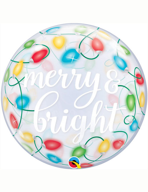 Merry and Bright Bubble