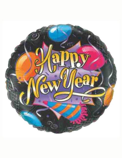 Celebrate Happy New Year Balloon