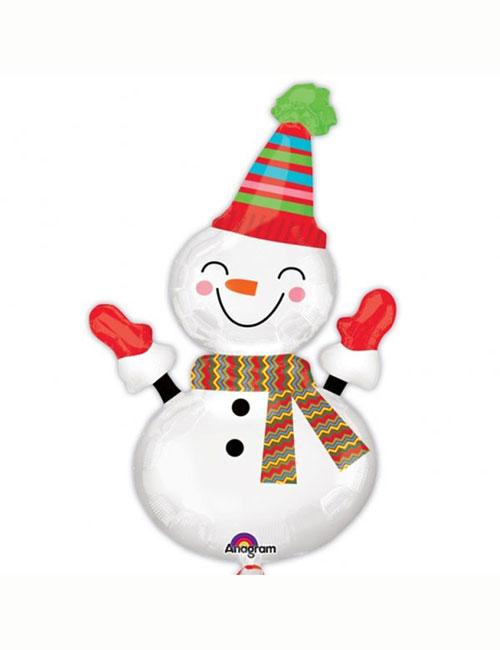 Smiley Snowman Shape