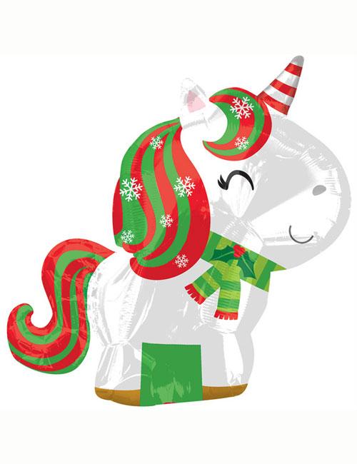 Unicorn Christmas Shape