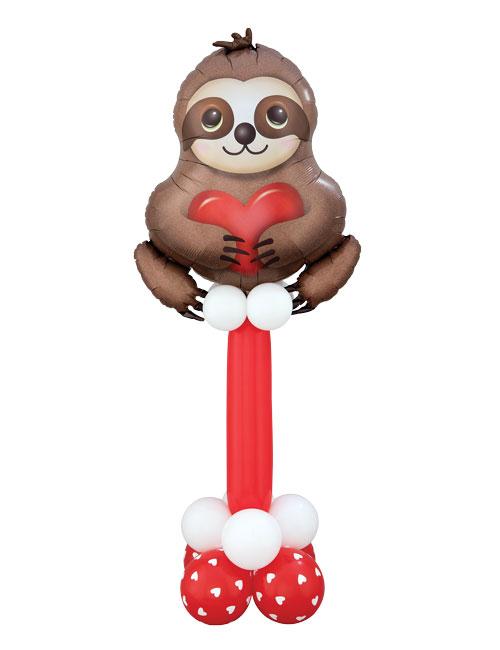 Adorable Sloth Pedestal