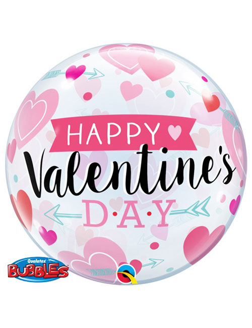 Arrows Hearts Valentine Balloon