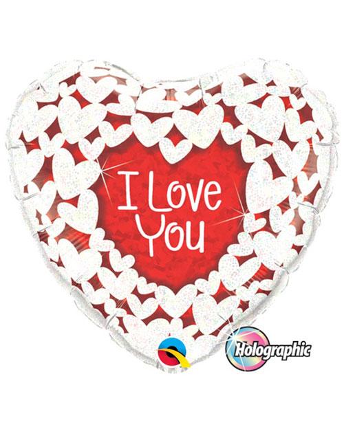 I Love You Heart Balloon