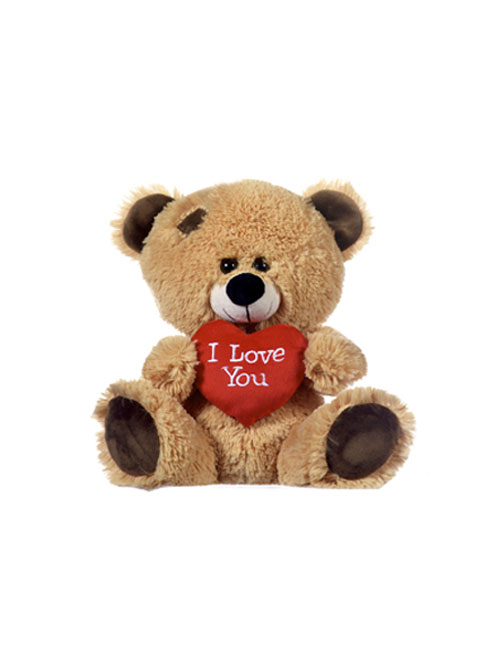 21 Brown Bear With I Love You Heart