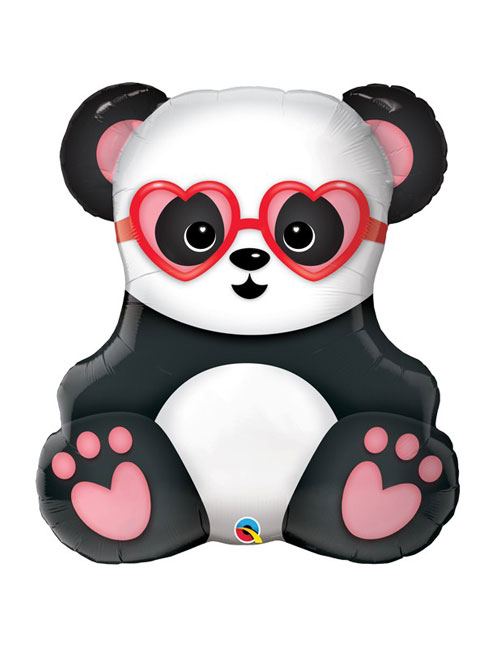 Love Struck Panda Balloon