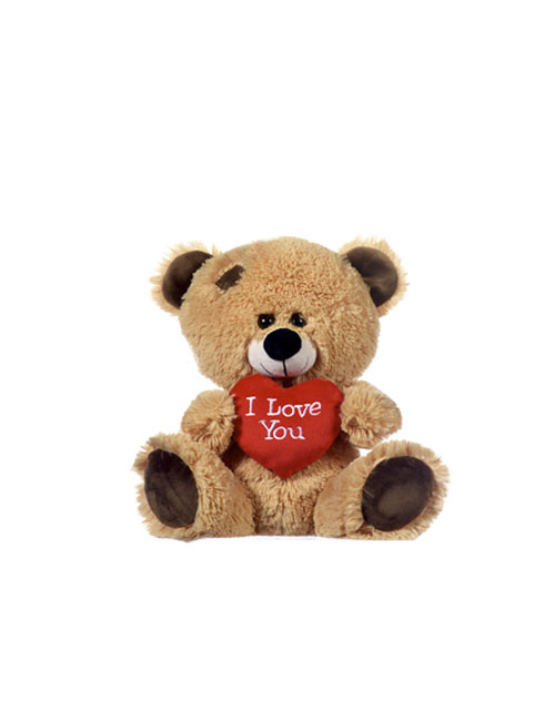 17 Brown Bear With I Love You Heart