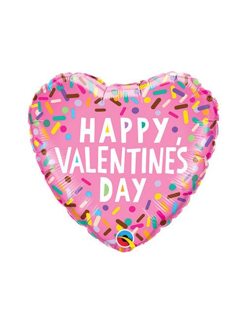 Sprinkles Valentine Balloon