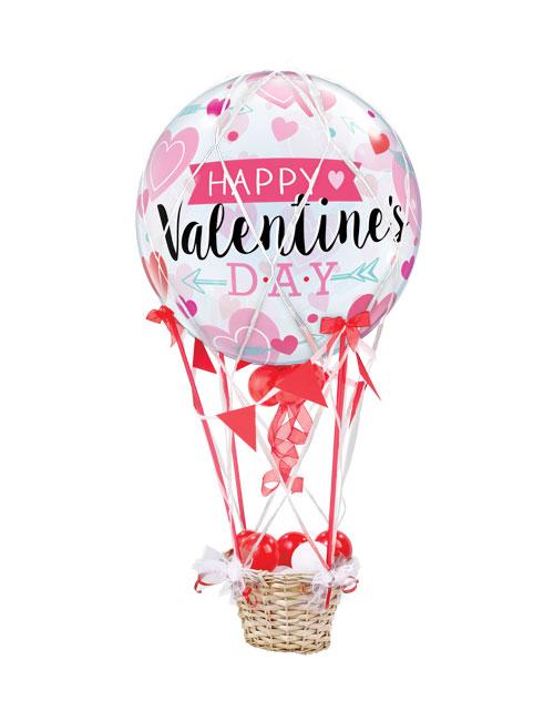 Valentines Day Banner Balloon