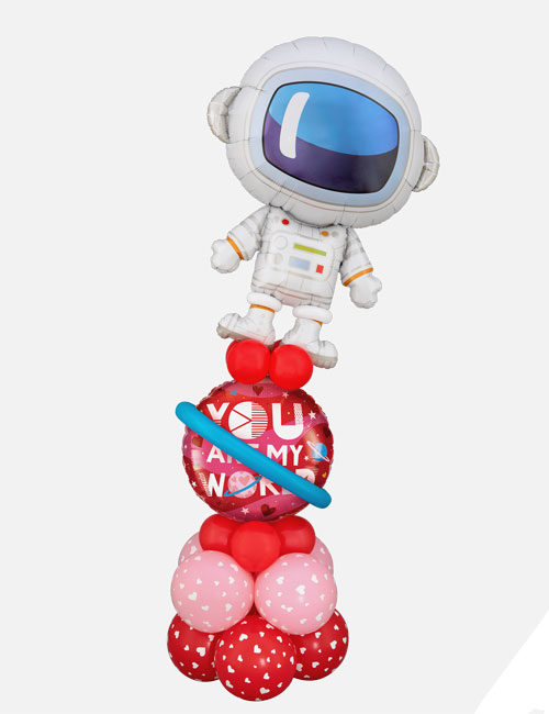 You are my world spaceman Display