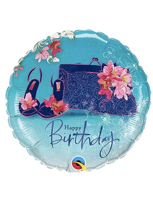 18 inch Happy Birthday Shoes