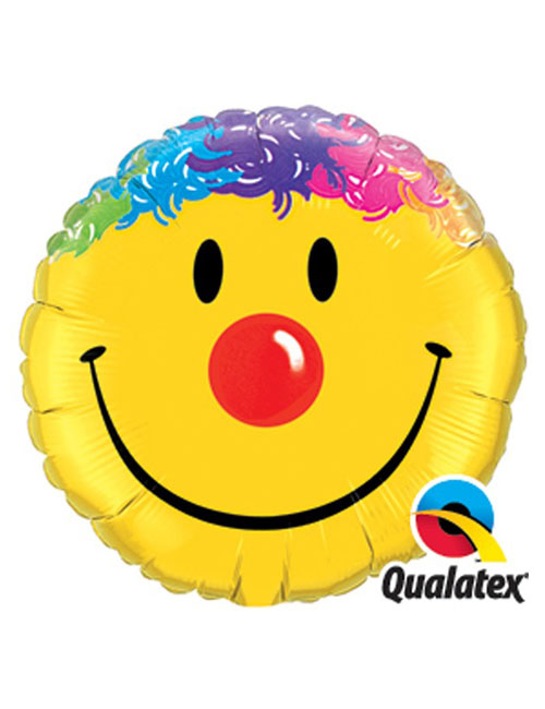 18 inch Smile Face Balloon