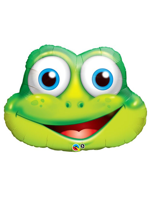 32 inch Funny Frog Balloon