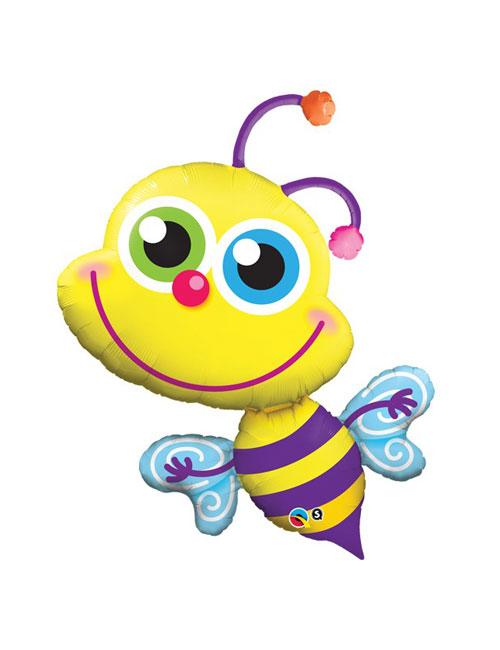 40 inch Beaming Bee Shape Balloon