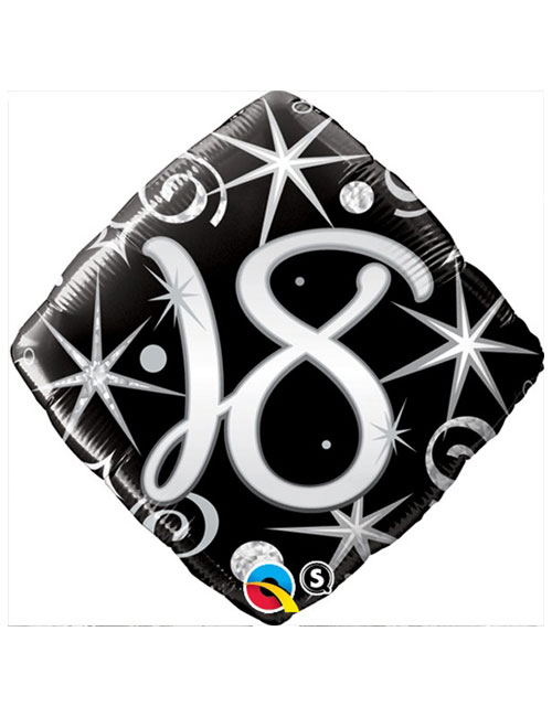 Black Diamond 18th Balloon