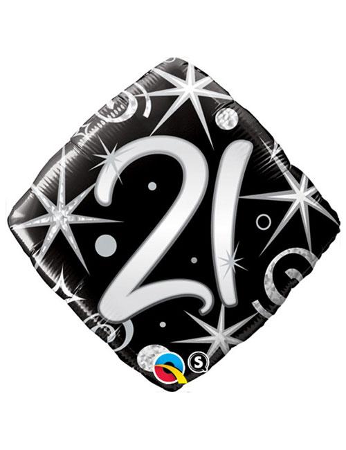 Black Diamond 21st Balloon