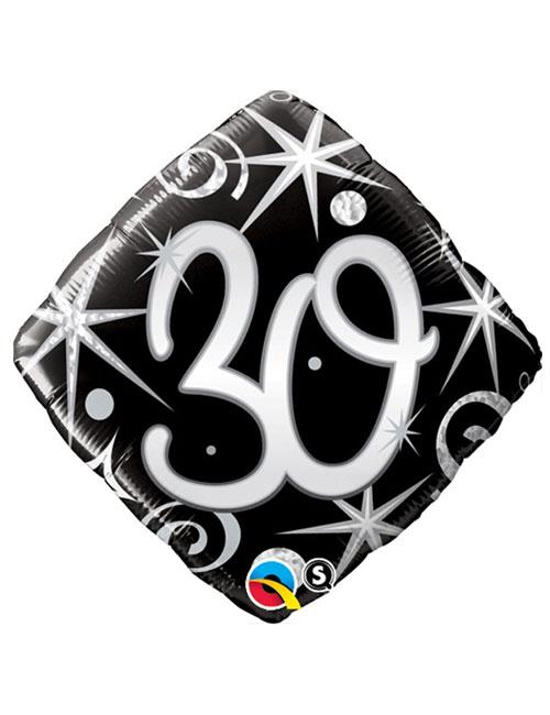 Black Diamond 30th Balloon
