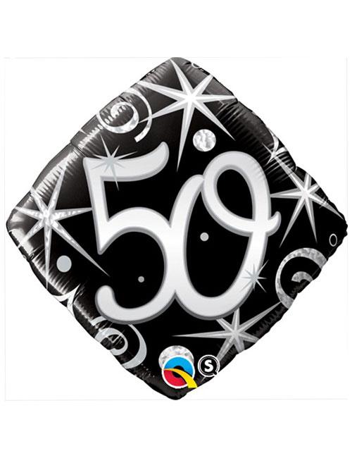 Black Diamond 50th Balloon