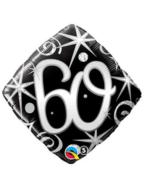 Black Diamond 60th Balloon