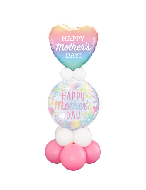 Mothers Day Floral Bubble Stand Up Display