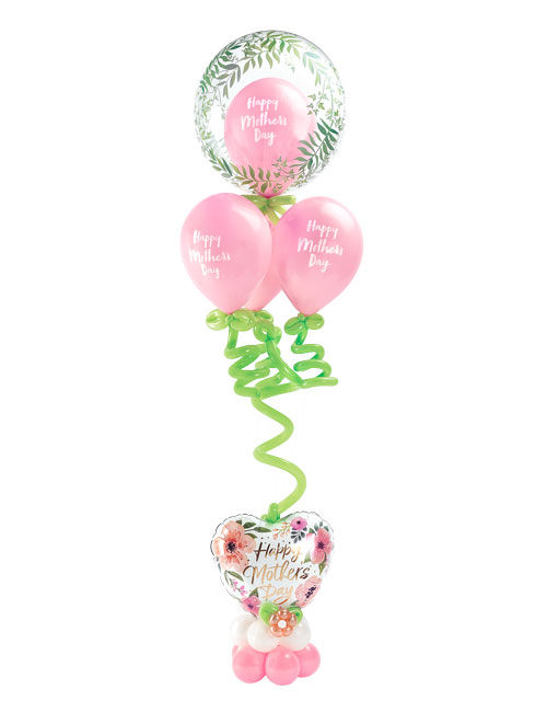 Mothers Day Floral Finery Balloon Bouquet