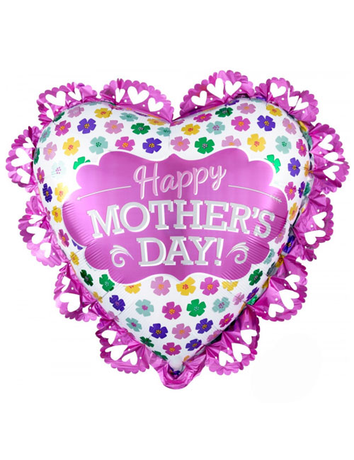 Mothers Day Intricate Hearts Balloon