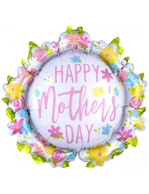 Mothers Day Wreath Balloon