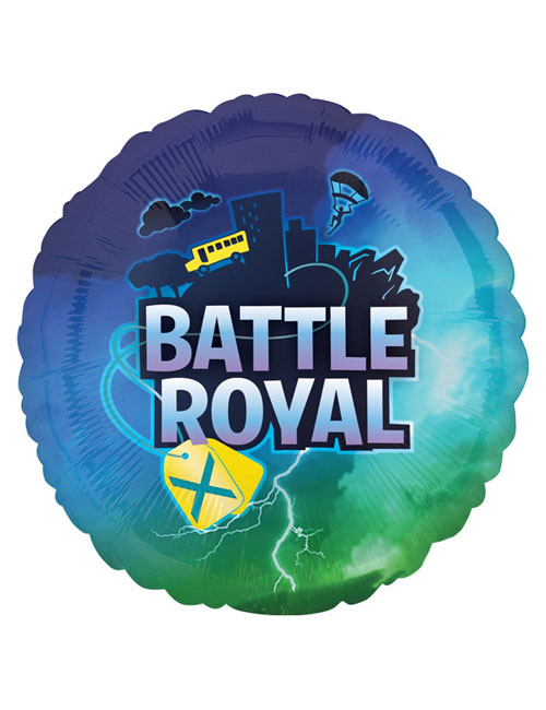 18 inch Battle Royal Foil Balloon