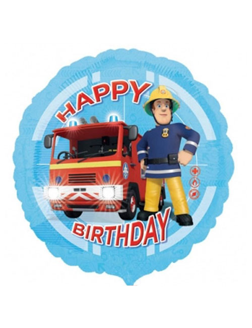 18 inch Fireman Sam Balloon