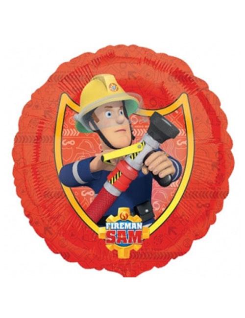 18 inch Fireman Sam Balloon1