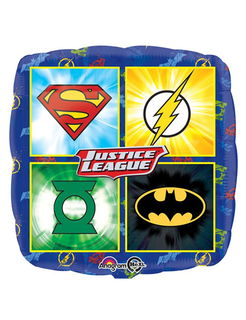 18 inch Justice League Foil Balloon