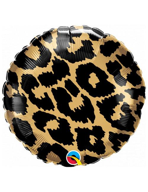 18 inch Leopard Spots Balloon