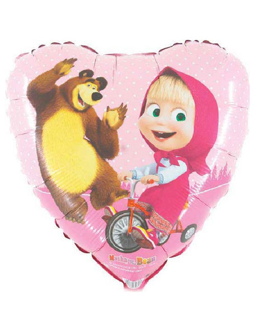 18 inch Masha and the Bear Balloon