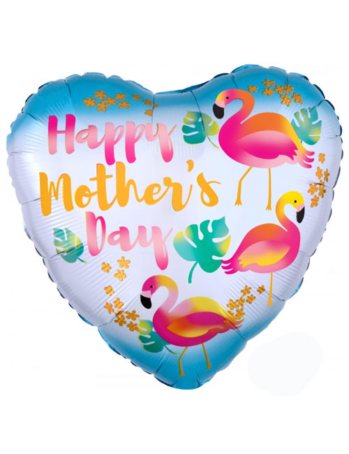 18 inch Mothers Day Flamingos Balloon