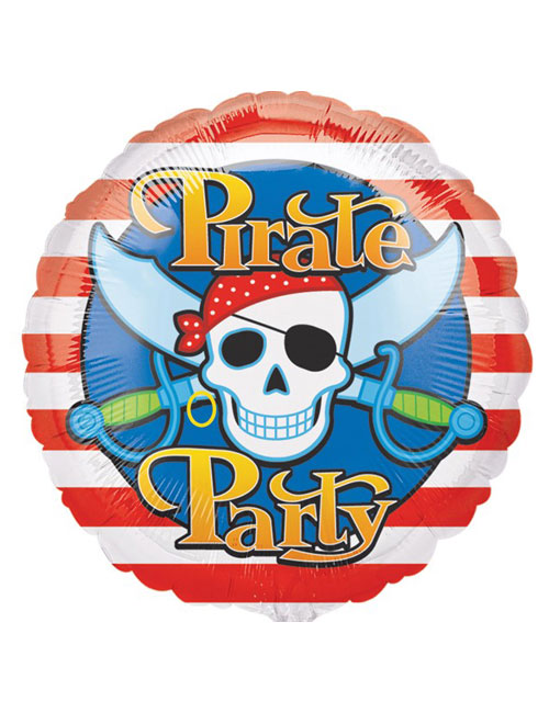18 inch Pirate Party Foil Balloon