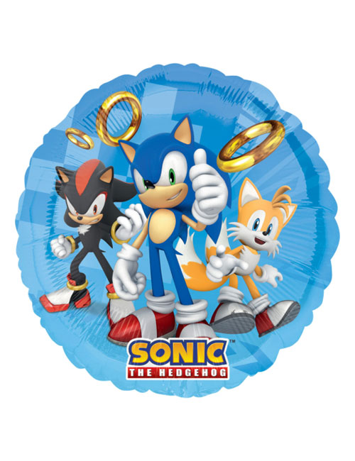 18 inch Sonic the Hedgehog Balloon