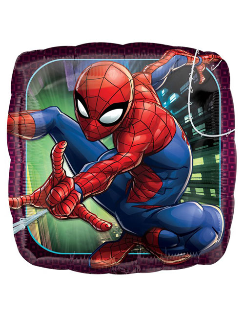 18 inch Spiderman Square Balloon