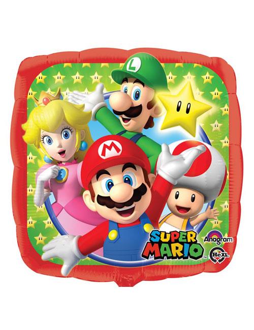 18 inch Super Mario Square Balloon