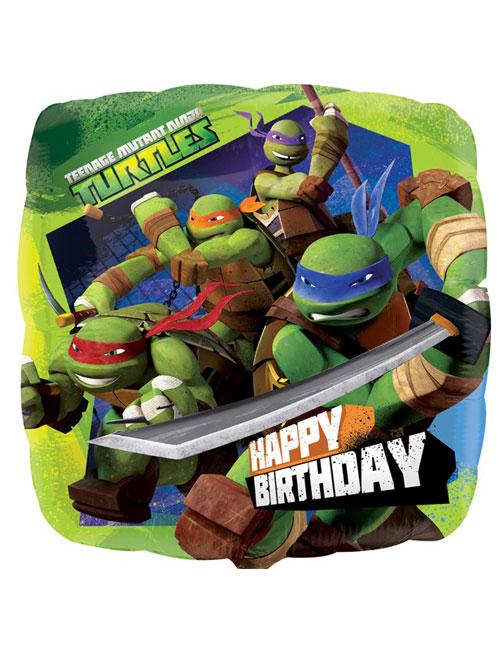 18 inch Teenage Mutant Turtles Balloon