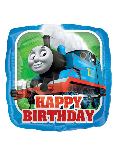 18 inch Thomas the Tank Engine Happy Birthday Balloon