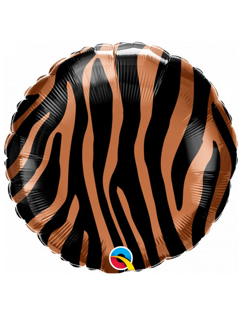 18 inch Tiger Stripes Balloon