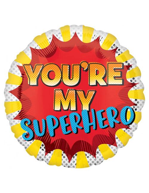 18 inch Youre My Super Hero Balloon
