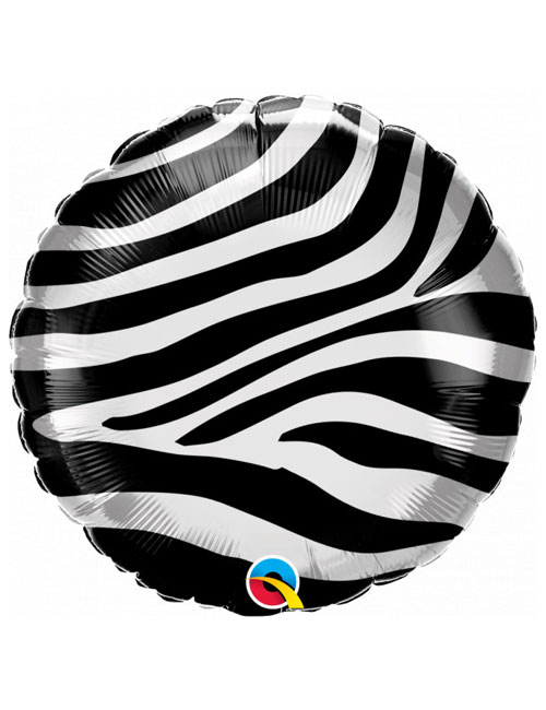 18 inch Zebra Stripes Balloon