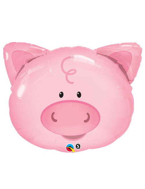 30 inch Playful Pig Shape Balloon