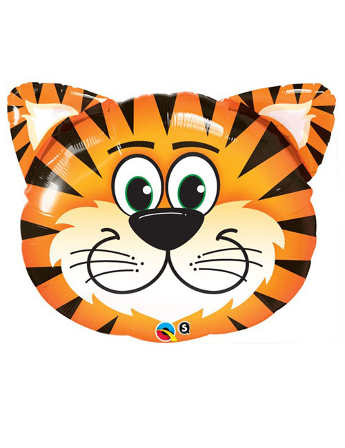 30 inch Tickled Tiger Shape Balloon