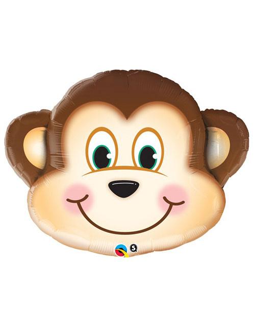 35 inch Mischeivous Monkey Shape Balloon