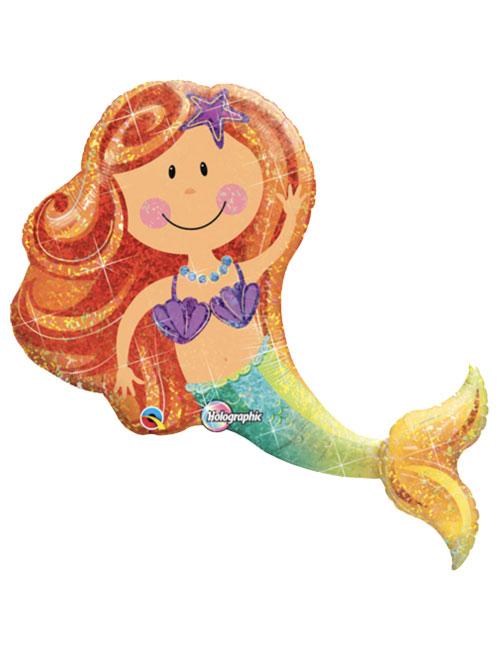 38 inch Mermaid Shape Balloon